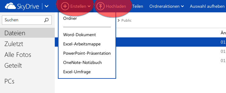 Excel Web Apps – Arbeitsmappen in der Cloud